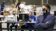 Paper shredding drives false election claims in Georgia