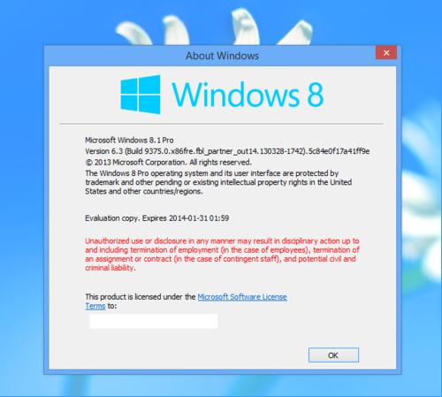 Windows Blue to be called Windows 8.1?