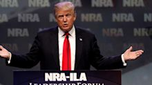 Trump slams Virginia Democrats for pushing gun safety regulations as suspected white supremacists are arrested for discussing opening fire at a Richmond gun rally