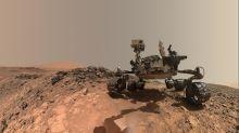 Curiosity e InSight são fotografados por sonda orbital da NASA em Marte