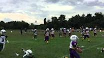 Youngster Outruns Six Defenders to Score Incredible Touchdown