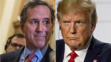 'Hell, No!': Trump Finally Goes Too Far, Even For Rick Santorum