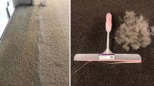 $2 Kmart squeegee hack leaving vacuums for dust