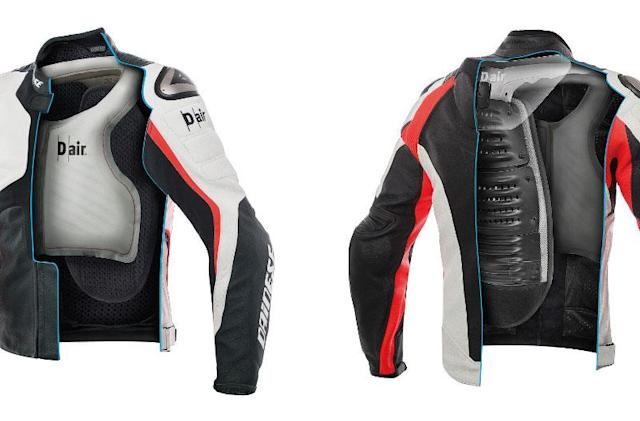 Dainese's airbag jacket doesn't rely on a motorcycle to activate