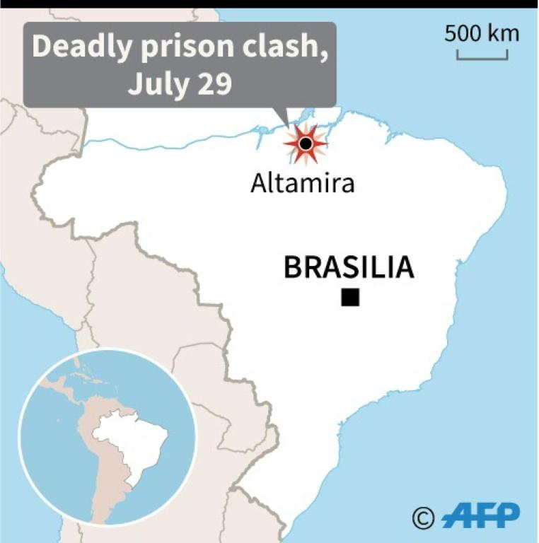 At least 52 killed in Brazil prison riot - including 16 by decapitation