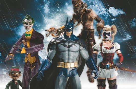 Batman: Arkham Asylum action figures available Jan. 2011