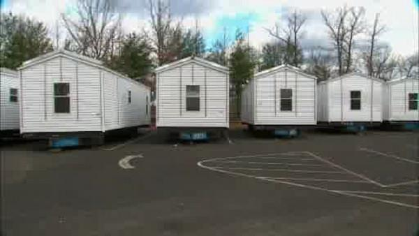 FEMA trailer walk through in New Jersey