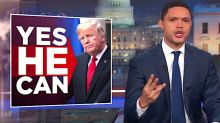 Trevor Noah Fawns Over 'Great Leader' Donald Trump In Brutal Takedown