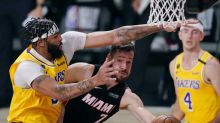 Heat are ailing, but insist NBA Finals vs Lakers aren't over