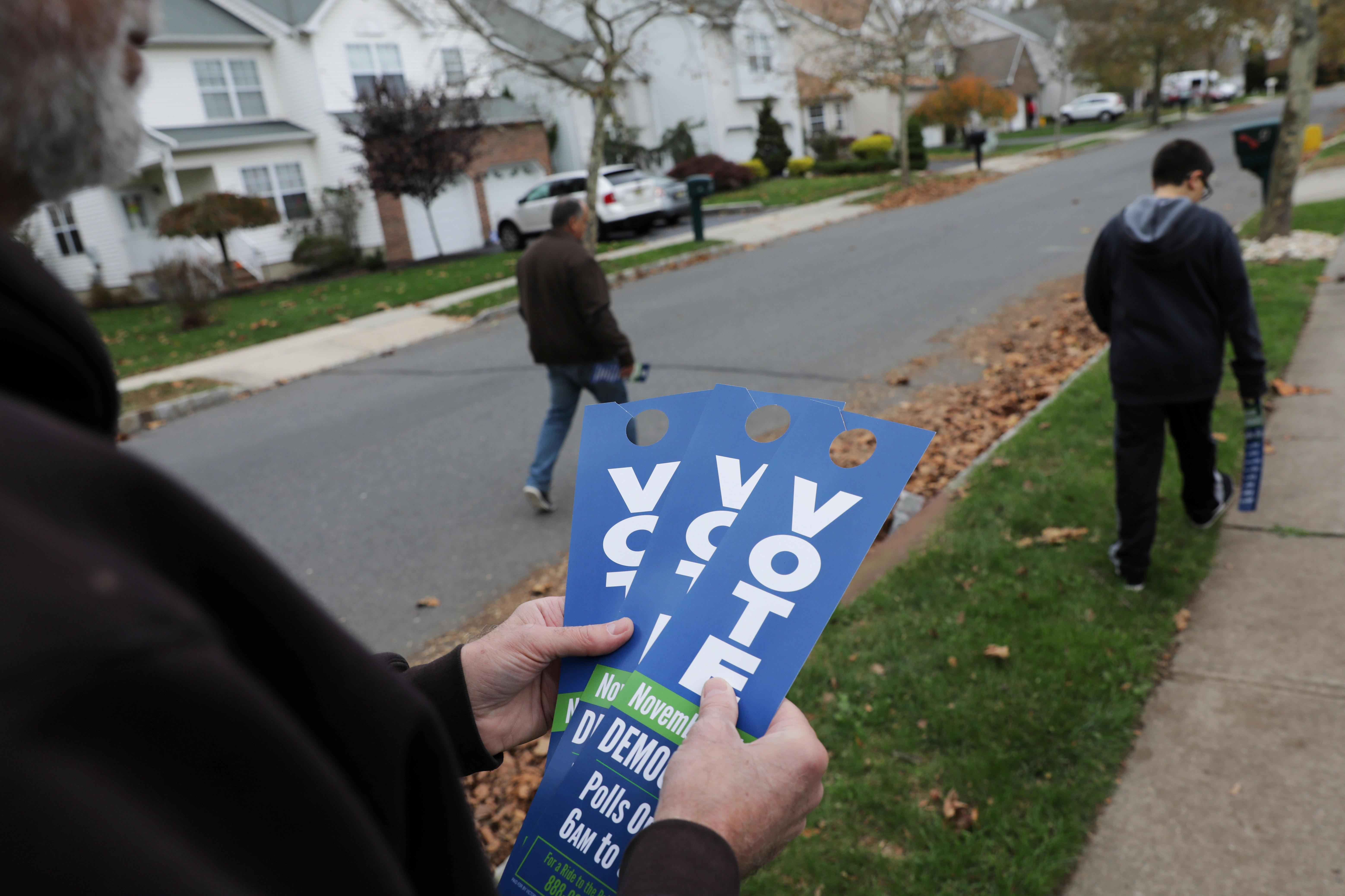 Progressive groups shatter fundraising records in battleground states