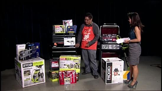 Home Depot shows off some Father's Day gifts