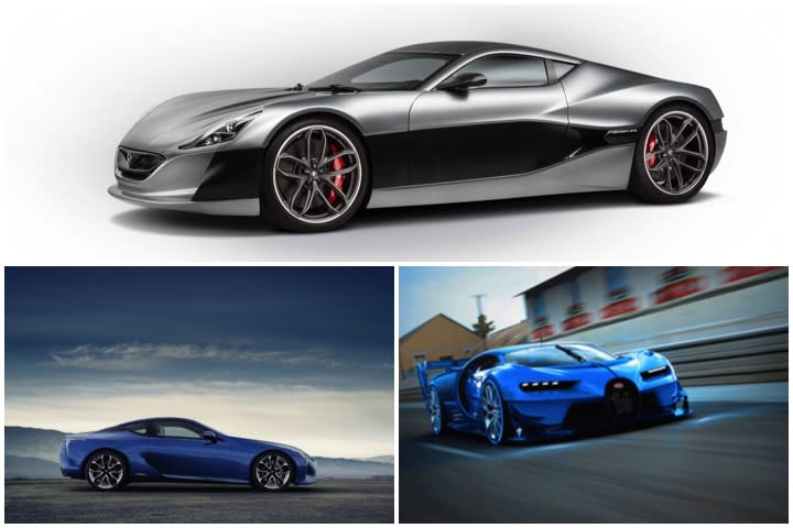 Supercars Debuting In Geneva With Hybrid Or Electric Powertrains