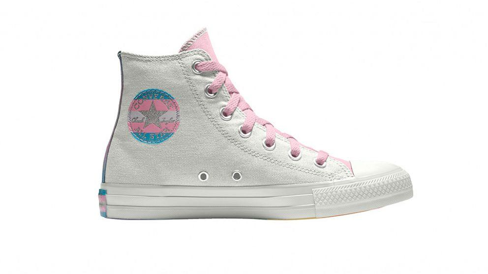 Converse introduces trans themed sneakers for Pride