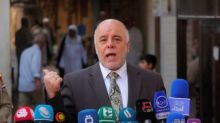 PM Abadi says Iraq's oil is for Iraqis, in reaction to Trump