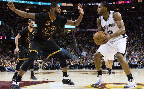 Playoffs Game 2: Cavaliers e Spurs são favoritos!