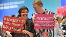 Ungewohnte Kampfkandidatur: SPD wählt neue Parteichefin