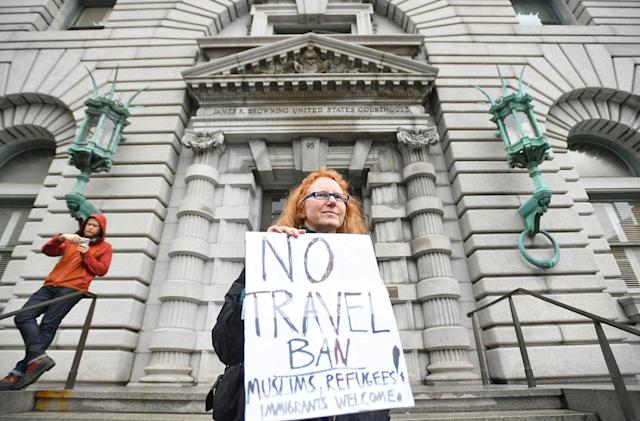 Appeals court denies Trump's attempt to revive the travel ban