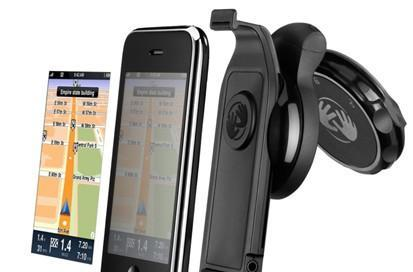 TomTom clears up iPhone car kit slip: £99.99 for the hardware alone, app sold separately