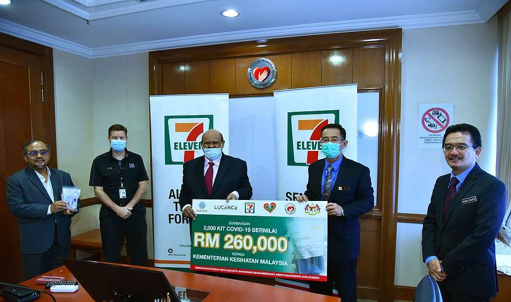 7-Eleven Malaysia donates 2,000 Covid-19 test kits worth ...