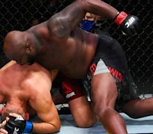 UFC Vegas 6 results: Derrick Lewis lands record-setting KO of Aleksei Oleinik