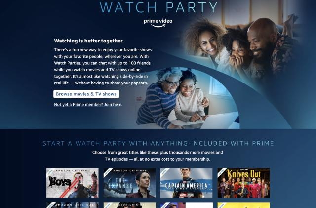 Amazon will let you co-watch Prime videos with friends in the US