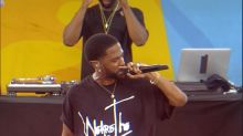 Big Sean rocks out Central Park with his hit 'Blessings'