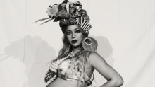 Pregnant Beyoncé Shows Off Her Bare Belly at the 'Carter Push Party'