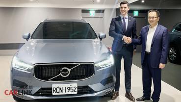 都是「自家人」!瑞典貿易暨投資委員會台北辦事處選購VOLVO XC60作為公務車