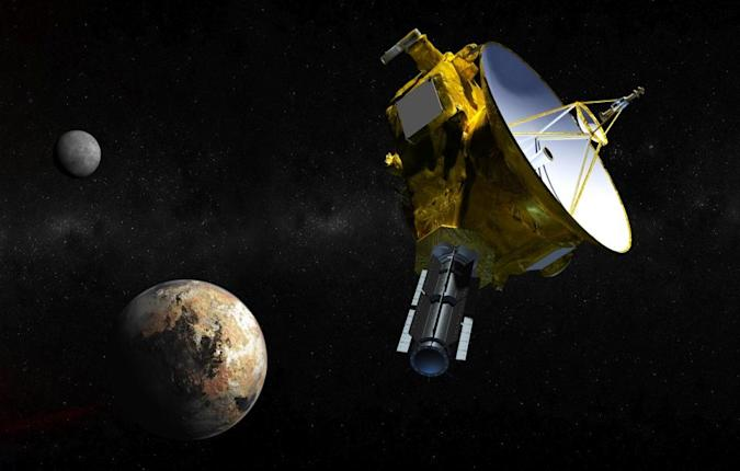 NASA mission sends back fuzzy, color 'movies' of Pluto