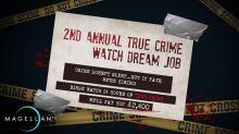 Un canal de TV paga 100 dólares la hora por ver documentales sobre crímenes