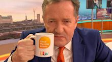 Piers Morgan trolled by BBC rival Dan Walker for cropping male co-presenters out of NTA pic