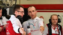 Kubica volta a guiar F1 na próxima sexta-feira pela Alfa Romeo