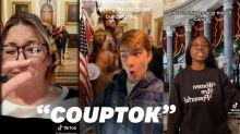 Le chaos au Capitole à Washington (déjà) parodié sur TikTok