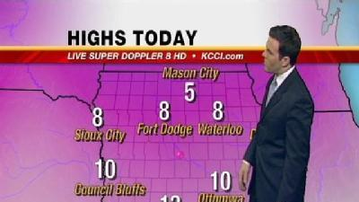 Video-Cast: Cold Today, Relief In Sight
