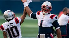 Newton again says Patriots don't need WR help: 'The grass isn't always greener'