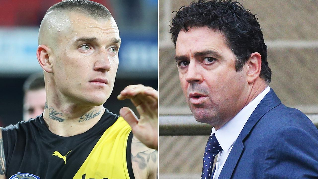 'Unmitigated rot': AFL torched over Dustin Martin controversy