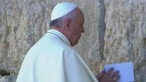 Raw: Pope Visit's Jerusalem's Western Wall