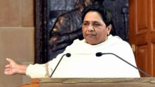 NDA government taking decisions in interest of a few capitalists: Mayawati
