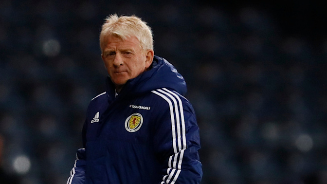 Gordon Strachan preparing Scotland for crucial World Cup qualifier against Lithuania on artificial turf