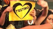 El hijo de Shakira se roba el show en concierto