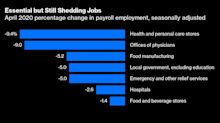 Even the Essential Industries Aren't Adding That Many Jobs