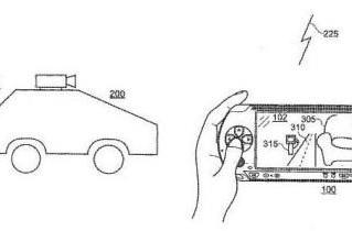 Sony patents PSP-controlled spy car