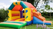 Boy stabbed in jumping castle at sister's birthday party