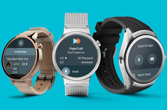 Android Wear 2.0 will launch on a pair of flagship smartwatches