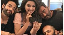 This is what Ajay Devgn and his Golmaal gang did after watching Parineeti Chopra's debut song