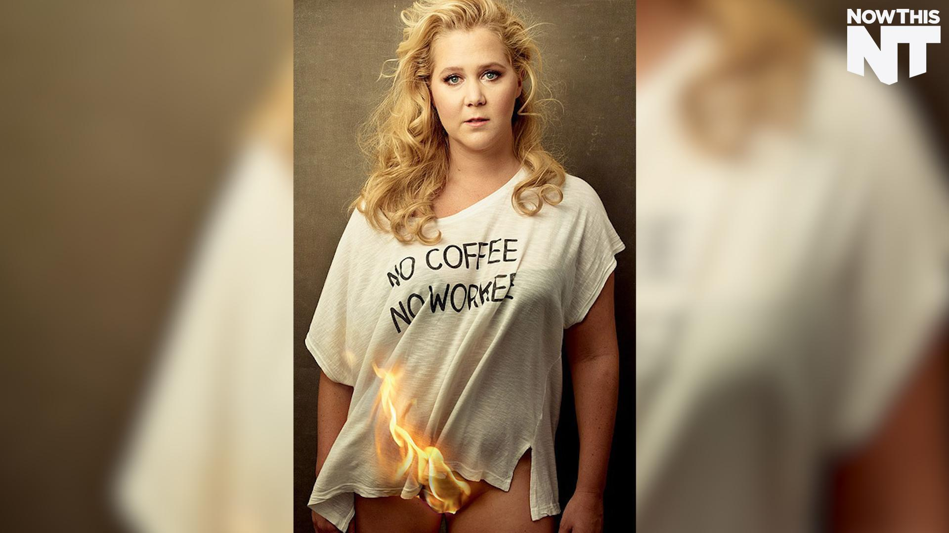 Amy Schumer Sex Video amy schumer lit her crotch on fire for vanity fair