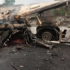 Ghana bus crash: At least 60 killed after two loaded coaches collide