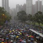 Hong Kong protests: Thousands stream into park amid fears of 'chaotic situations' and Chinese crackdown