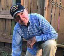Second World War veteran, 97, joins NFL players' 'taking the knee' protest after President Trump flag comments