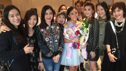 Celebs support for actor's daughter's debut solo gig